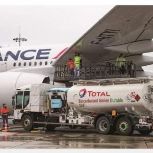 使用済みの食用油で7時間フライトに成功 エールフランス