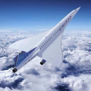 ユナイテッド航空、2029年にも超音速旅客機を就航?
