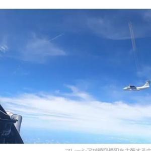 中国軍機、東南アジアの領空周辺に 摩擦拡大
