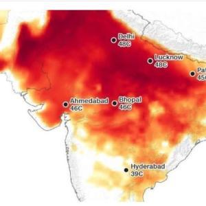 50年後、熱波で35億人が住む場所を失う?