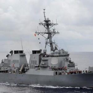 米イージス駆逐艦が台湾海峡通過