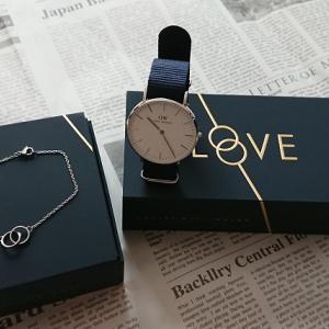 【ダニエルウェリントンCLASSIC BAYSWATERとELAN UNITYレビュー】時計とブレスのシックなスタイル!