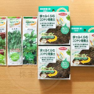 家庭菜園の最初の一歩!採れたて新鮮野菜が食べられる サカタのタネ(1377)カタログ選択品到着(R1.5月末優待)
