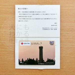 CEホールディングス(4320)の株主優待到着報告(R1.9月末優待)