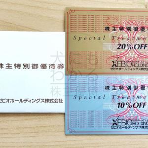 【ゼビオホールディングス】グループ各店舗で利用できる割引券 ゼビオHD(8281)株主優待到着(R2.3月中優待)
