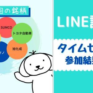 【小額投資】LINE証券の株のタイムセールに参加!へそくり投資でお小遣いゲット!