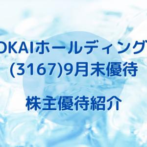 【TOKAIホールディングス(3167)】5コースから商品選択 & 割引優待券 株主優待到着(2020.9月末優待)