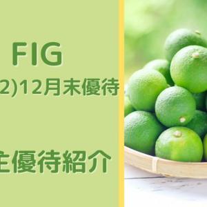 【FIG(4392)】カタログ掲載!4,000円相当の商品から1点選択 株主優待到着(2020.12月末優待)