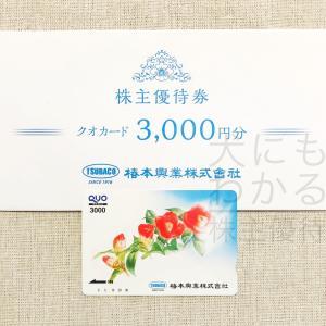 椿本興業(8052)の株主優待到着報告(H31.3月末優待)