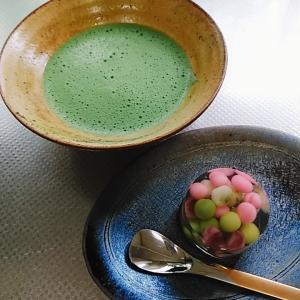 7月の主菓子 錦玉羹