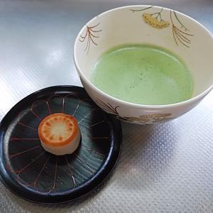 干菓子二種 雅の菊、そばおぼろ
