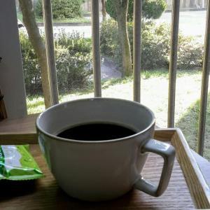 カフェ☆ベランダー でコーヒーを