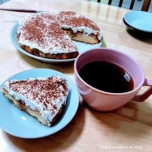 米粉のティラミス風ケーキ