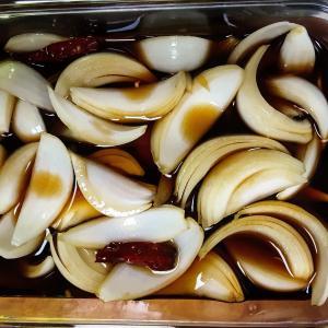玉ねぎのチャンアチ/ 冷蔵庫片付け