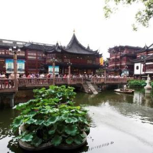 【オススメは朝!】人混み必須!上海の観光名所と言えばもちろん豫園