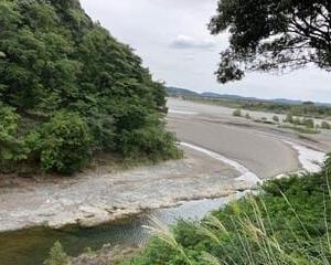 二俣川と天竜川の合流地点 天竜二俣の素晴らしい景色