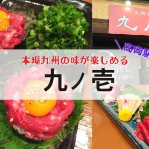 【九ノ壱@高岡】博多もつ鍋と馬刺しが美味しい!本格的な九州名物が楽しめるお店!