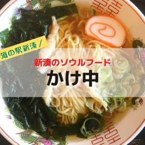 【道の駅カモンパーク新湊】新湊のソウルフードかけ中と白エビラーメンと食べてきたよ!