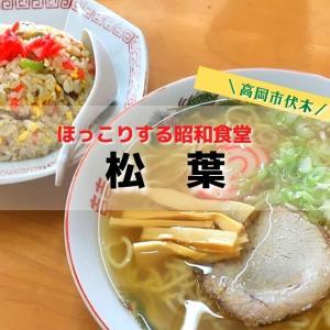 【松葉】高岡市伏木のレトロ食堂!ほっこりする中華そばは毎日食べても飽きない味!