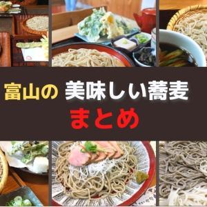 【富山の蕎麦】おすすめの美味しいそば処6選!穴場的お店からミシュラン掲載店まで!