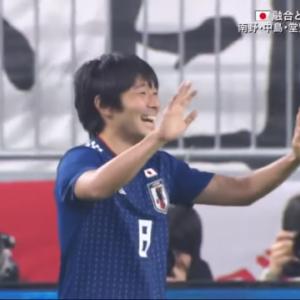 サッカー日本代表 ボリビアに1-0で勝利