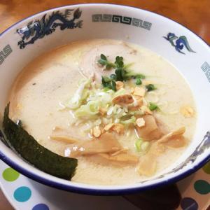 【ラーメン】「お食事処 らんらん亭~とん塩らーめん」クリーミースープみたいな味わいで美味しい【新潟県村上市】