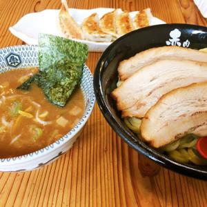 【ラーメン】「肉中華そば 赤シャモジ」で食べてみた。ボリュームと味も良く、特にから揚げが美味い