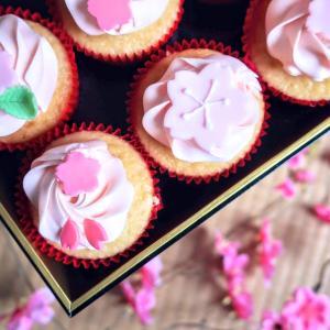 カップケーキをお花見に連れて行きたくて色々お取り寄せしてみた
