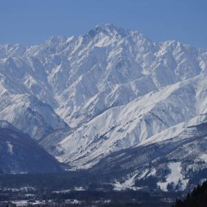北アルプス 後立山連峰 五竜岳