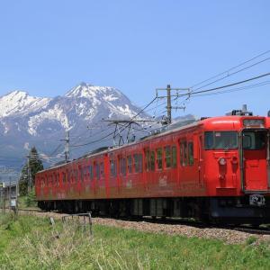 しなの鉄道 115系 コカ・コーラ色