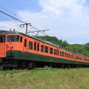 しなの鉄道 115系 リバイバルカラー