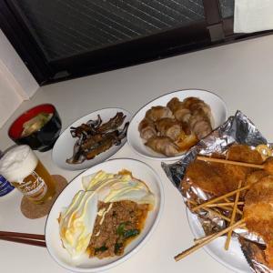 お惣菜の串カツは余計だった夜。