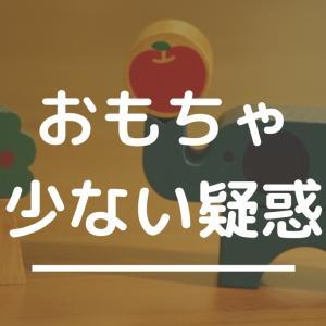 我が家のおもちゃ全公開〜おもちゃ少ない疑惑は事実か!?〜