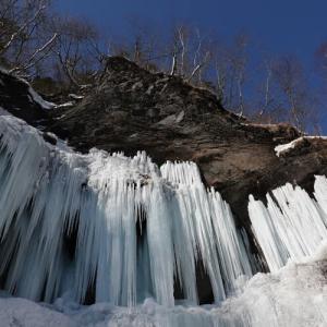 氷瀑💙カジカ沢の滝