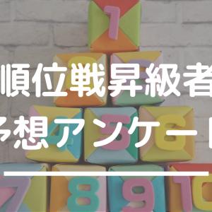 【藤井聡太七段の昇級予想は?】順位戦昇級者予想アンケート結果をまとめてみた@2019年度