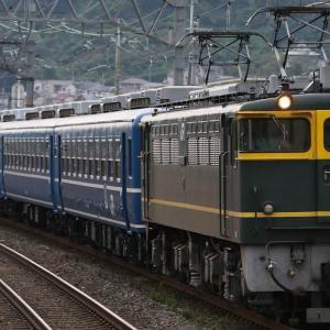 SL北びわこ号12系客車送り込み、京阪8000系30周年HM、はるか、4076レ