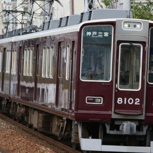 阪急8002F、75レ EF65-2117