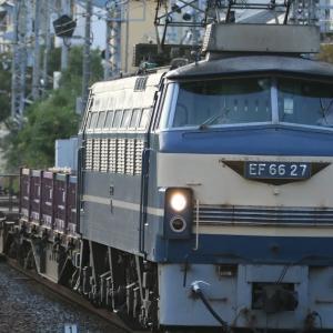 配6866レ EF66-27、75レ EF65-2087