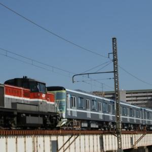 甲種輸送 東京メトロ日比谷線13000系