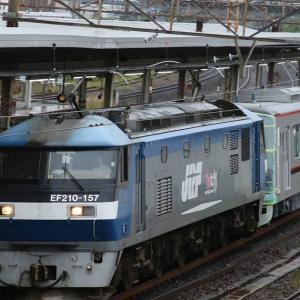 甲種輸送 東武70090系、1089レ EF66 27