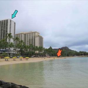 2020ハワイ旅行Vol.9【クヒオビーチ海水浴】