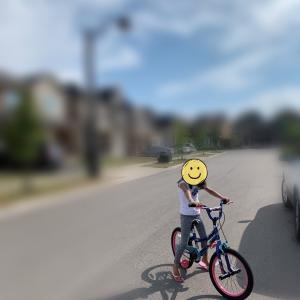 3歳 初めての自転車