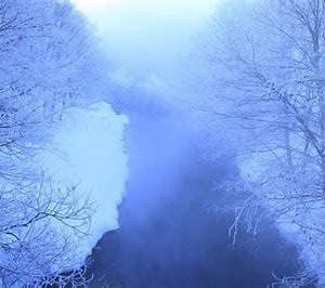 いちまいの銀箔のごと寒波来る富川直芳