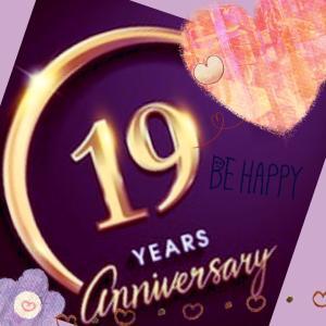 離婚記念日とは言わない、自分独立記念日☆19周年