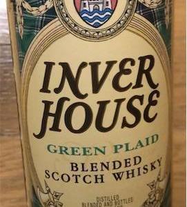 ウィスキー探してます42 インバーハウス グリーンプレイド