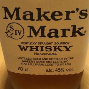 ウィスキー探してます52 メーカーズマーク