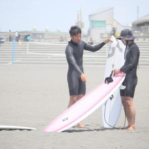 Keyo surfboards 試乗させて頂きました。