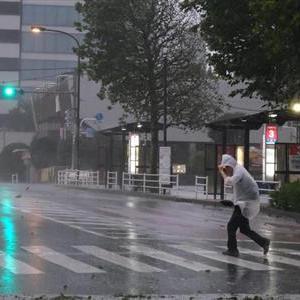油断できない台風18号から変わった低気圧!