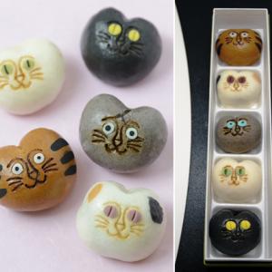 この秋食べたい!フォトジェニックな和菓子9選!!クマや猫も!