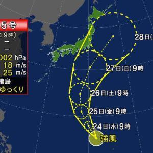 『台風5号』週末以降大雨に注意!